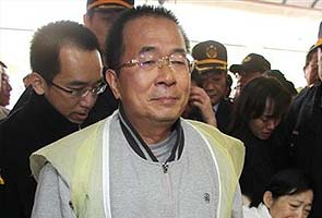 Taiwan's jailed former president Chen Shui-bian attempts suicide, say officials