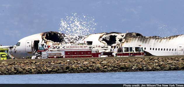 Two die, over 180 injured as plane crashes in San Francisco