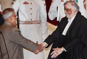 Justice P Sathasivam sworn in as 40th Chief Justice of India