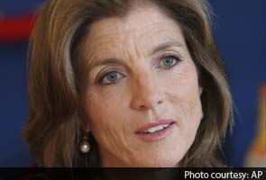 Caroline Kennedy, catching the torch