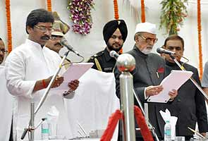 JMM's Hemant Soren is Jharkhand's ninth chief minister