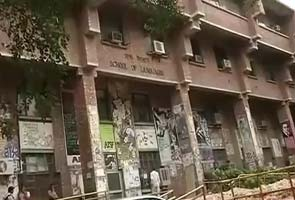 JNU student attacks female friend with cleaver, then kills himself