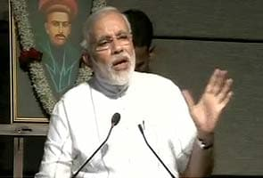 Narendra Modi slams UPA government's food security programme