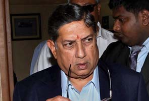 N Srinivasan back as BCCI president: sources