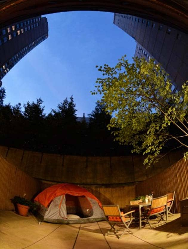 New York's latest luxury: a night under the stars