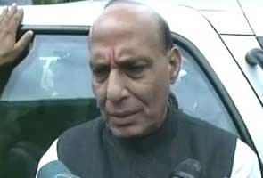 LK Advani is not upset, says Rajnath Singh after meeting RSS chief