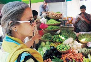 In Delhi, vegetable prices soar through the roof