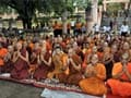 Day after terror attack, prayers for peace at Bodh Gaya