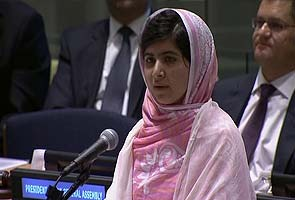 Highlights: Malala Yousafzai addresses the UN