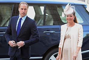 Prince William arrives by Kate's side for baby's due date