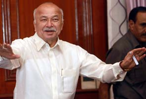 Cannot disclose David Headley's statement on Ishrat: Home Minister Sushil Kumar Shinde