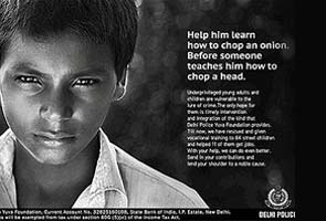 Delhi Police drops controversial ad on street children after outrage