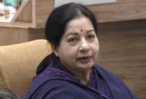 M Karunanidhi speaking like a stone-age man, says Tamil Nadu Chief Minister J Jayalalithaa