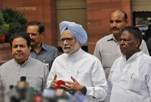 Within minutes, Prime Minister Manmohan Singh's plea defeated by members of his own party