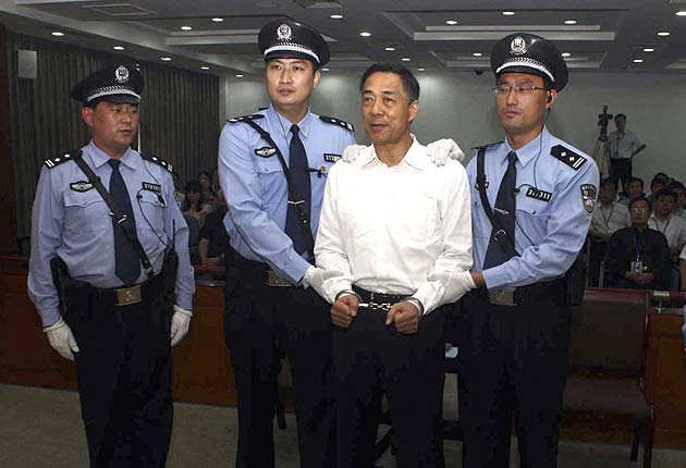 Bo Xilai, Chinese official at centre of scandal, found guilty; given life term