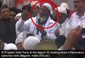 How Kadir Rana, BSP leader wanted for riots managed to be in Parliament and Muzaffarnagar on the same day