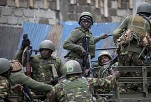 Large explosion rocks Kenya mall in hostage siege