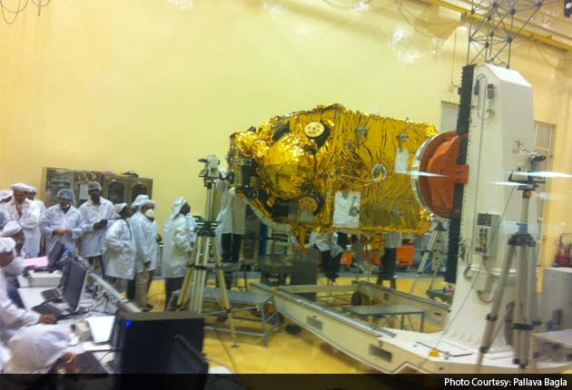 India's Mars Mission: first look at the satellite that will orbit the planet