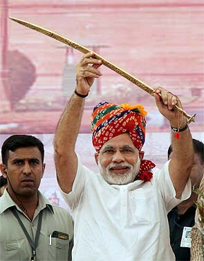 Narendra Modi to address rally in Delhi on September 29