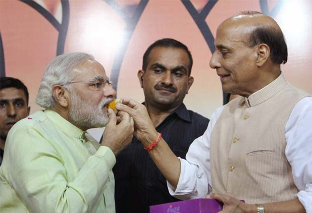 Behind Narendra Modi's 'raj', a dedicated Rajnath