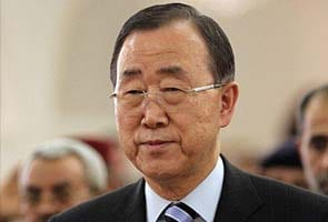 Ban Ki-moon holds first meeting with Syrian opposition chief