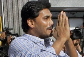 Jagan Mohan Reddy gets a rousing welcome at home