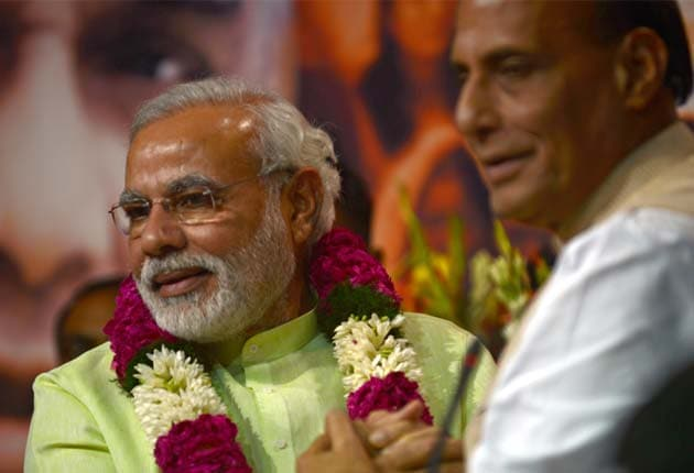 Narendra Modi's political journey from RSS worker to BJP's PM candidate
