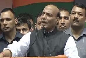 Government troubling people who want to join BJP: Rajnath Singh