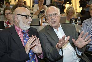 Peter Higgs, Francois Englert win physics Nobel for particle mass