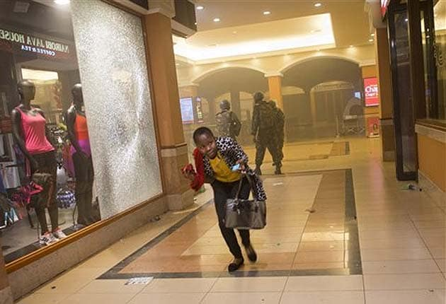 Soldiers are widely blamed for looting at Kenyan mall