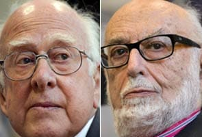 Peter Higgs and Francois Englert: men behind the 'God particle'