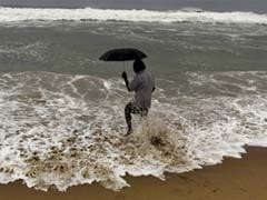 Cyclone Helen to make landfall shortly, heavy rains lash coastal Andhra Pradesh