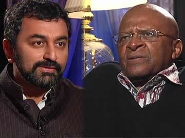 Freedom's heroes: Desmond Tutu on Nelson Mandela
