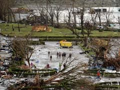 On idyllic Philippine island, typhoon hints at tourism paradise lost