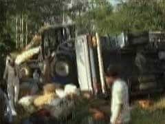 21 killed as truck carrying them overturns near Belgaum in Karnataka