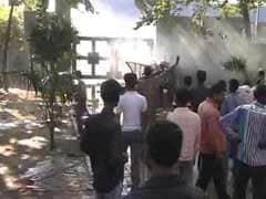 Violence outside sugar mill in Lakhimpur Kheri over farmer's suicide