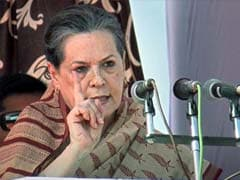 Sonia Gandhi counters BJP's claim of no development in Rajasthan