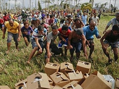 Philippines to split up typhoon relief zone country by country