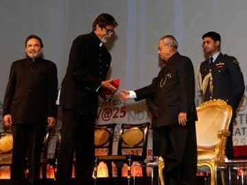 Big B blogs on NDTV's Living Legends Award