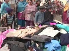 NDTV-Uday Foundation collect over 1000 blankets for UP riot refugees