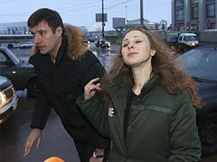 "Freed Pussy Riot member dismisses Vladimir Putin's amnesty as ""PR stunt"""