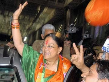 Assembly election 2013: Narendra Modi a big factor in Rajasthan win, says Vasundhara Raje