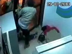 Bangalore: This brave ATM guard grabs machete from robbers, hits one of them