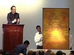VS Gaitonde artwork sets world record at Christie's debut India auction
