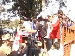 Devyani Khobragade case: Protests outside US consulate in Hyderabad