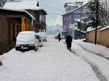 Avalance warning in Kashmir Valley