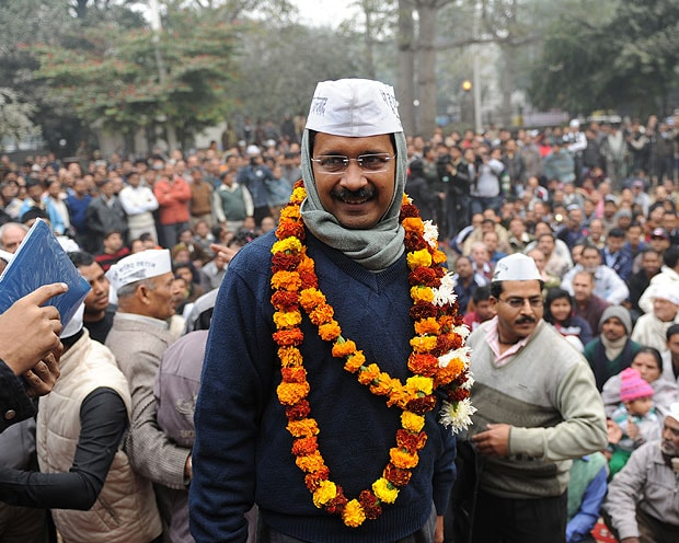 'Mango man' Arvind Kejriwal, India's newest political star