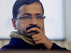 Protest Outside Arvind Kejriwal's House Over Slum Demolition