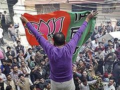Delhi: BJP launches 'Ek Note, Kamal par Vote' campaign