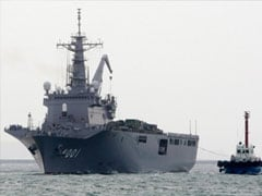 Two critical after Japan navy collision